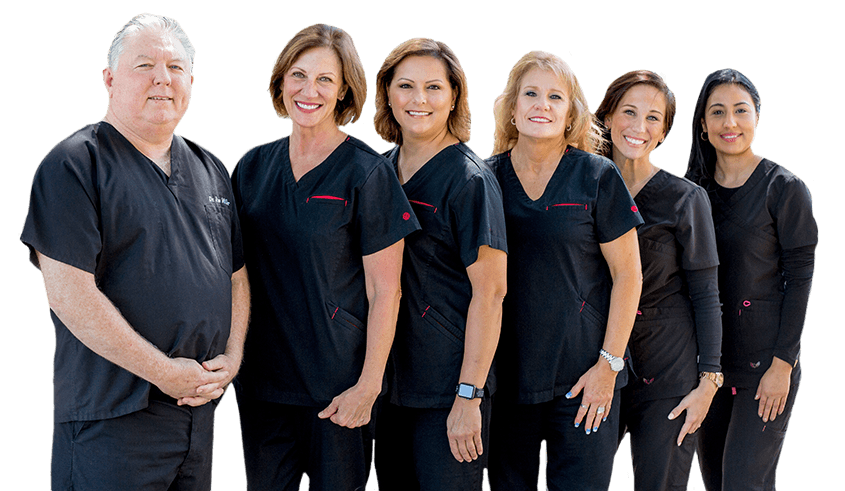 Lake Highlands dnetist Jim Miller DDS and his team